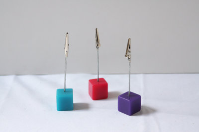 01021_Cube Table Number Holders