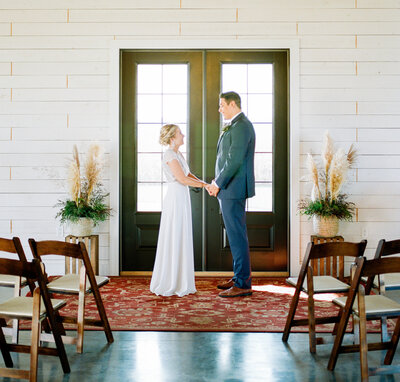 modern farmhouse serenity hills pavilion elopement photography