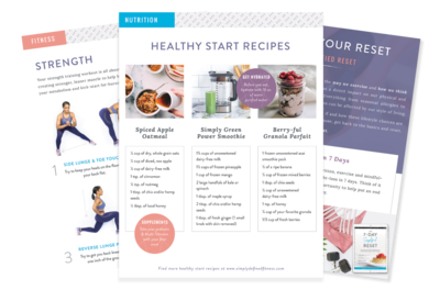 Wish you could hit the reset button? If you did, you'd have more energy, your clothes would fit better, and you'd finally get back on track. My 7-Day Simplified Reset gives you everything you need for a fresh start.