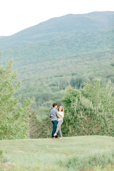 White mountains engagement session by K. Lenox Photography-10