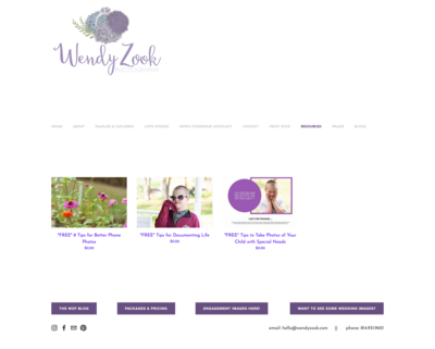 Wendy-Zook_Resources_Before