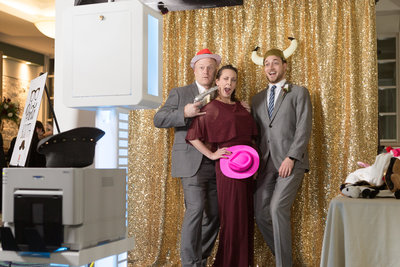 Photo booth rental at the Mobile Convnention center. Rental date of December, 2019.