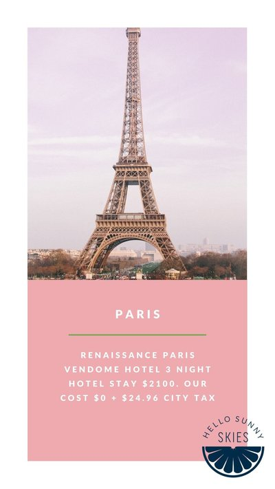 Our family trip to Paris, what we did and where we went..