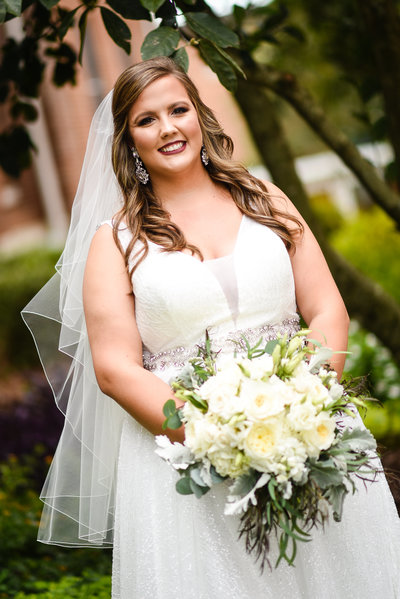 Bridal Portrait, Mississippi Wedding