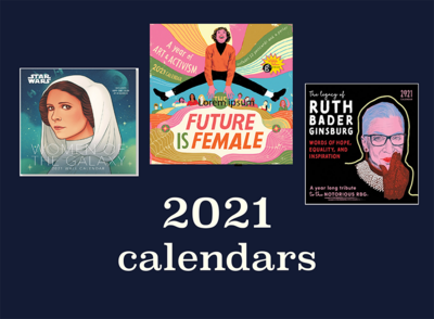 2021 calendars women Jumble and Flow Gift Guide