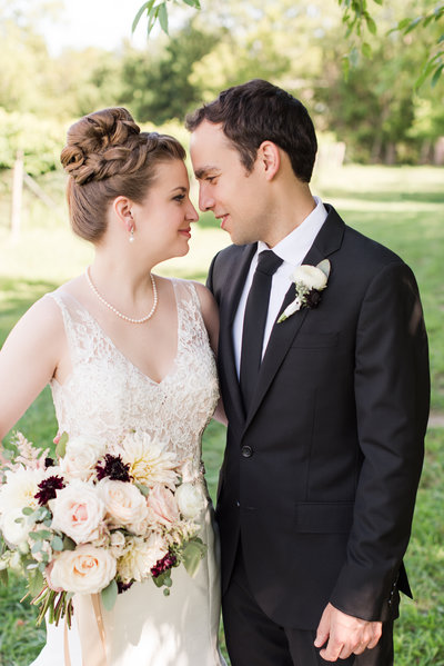Fall Winery Wedding Elegant