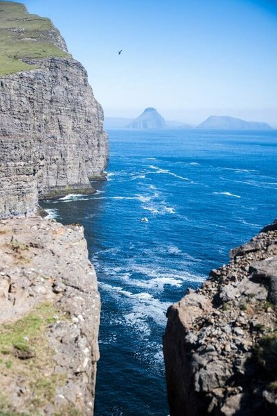 Cliffs in the Faroe Islands