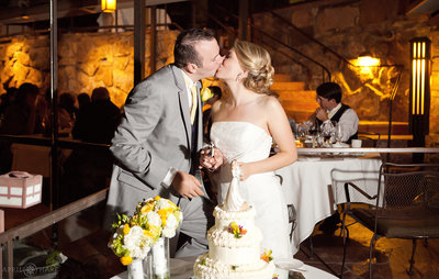 Cake-Cutting-Wedding-Kiss-Flagstaff-House-Boulder-Colorado