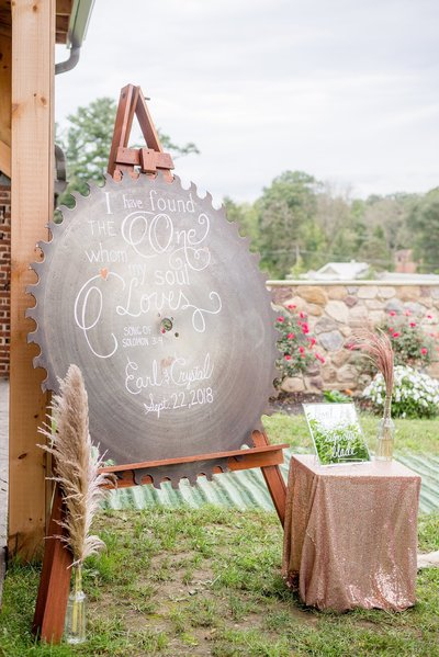 Summer wedding at Wilson's Bittersweet Farm PA by Lindsey Markle Photography