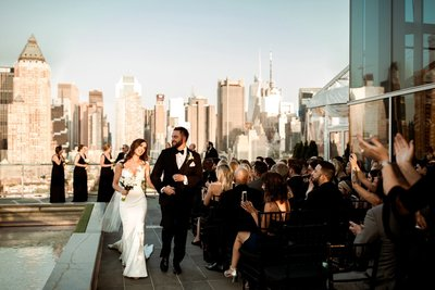 new york city rooftop wedding