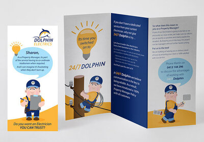 Dolphin Electrics DL Trifold by The Brand Advisory