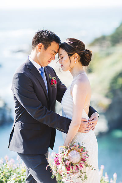 Bay area wedding couple photography on the california coast