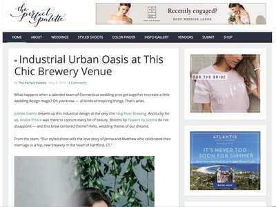 Jubilee Events Featured on The Perfect Palette