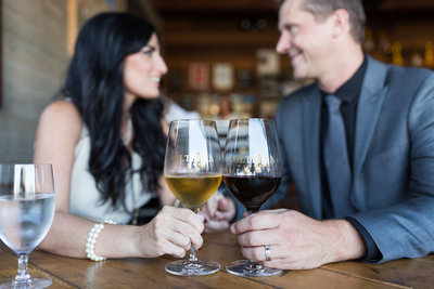 Elopement at Solterra Winery in Solana Beach
