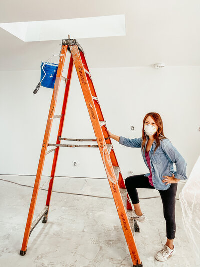 Interior Design_Anita Yokota_DIY ladder