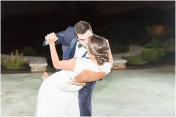 first dance at green valley country club wedding