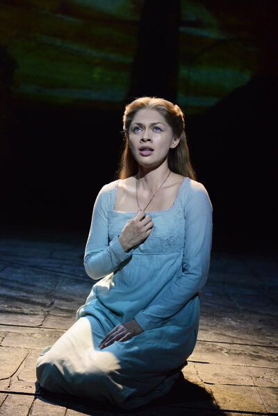 Patrice Tipoki as Fantine in Les Miserables