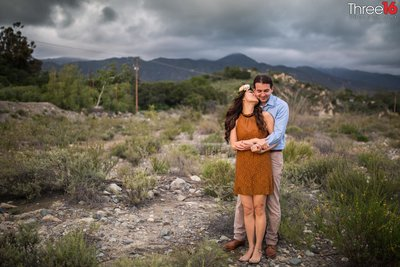 Holy Jim Trail Engagement Session