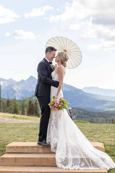 san sophia overlook - telluride wedding venue