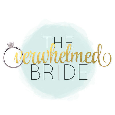 Overwhelmed bride logo