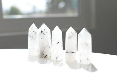 Tourmaline Quartz Towers Dark 1
