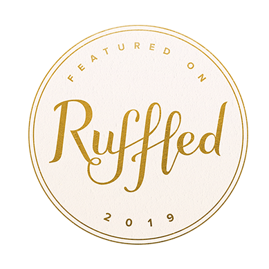 Featured on Ruffled badge for Willow and Oak Events