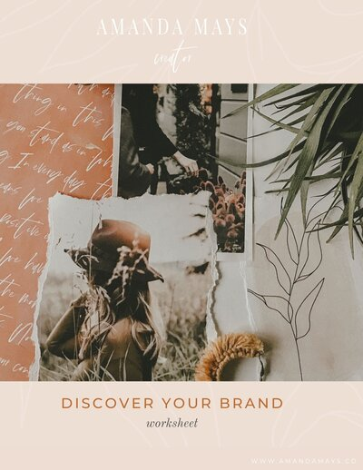 Discover your brand workbook