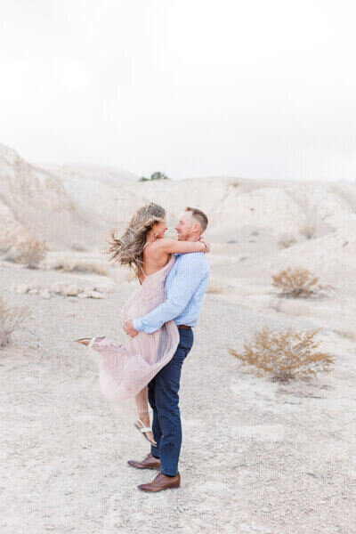Engagement Photos for fun couples in Las Vegas