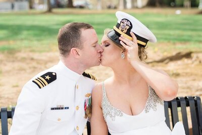 Nadine De Leon Designs Military Wedding Annapolis Waterfront Hotel