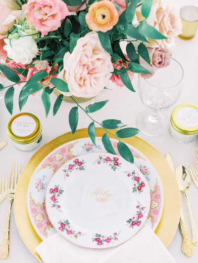 Romantic Garden Party at Clark Gardens Dallas Wedding (26)