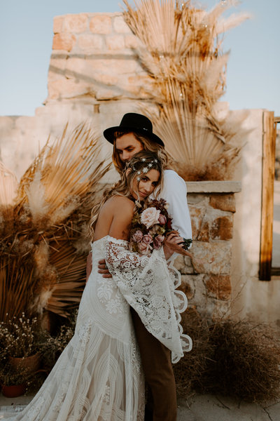 Joshua Tree Elopement at the Ruins
