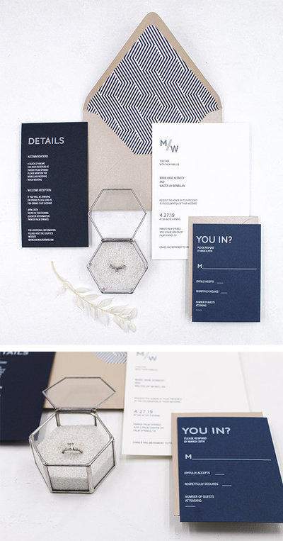 Los Angeles stationery design