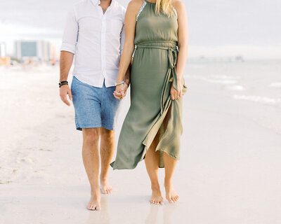 © 2019 Ashley Nicole Photography - Clearwater Beach Engagement_Florida