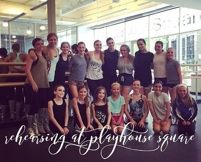 TDC Dancers were honored to be part of the National Dance Day events at Playhouse Square