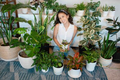 Jasmine Briones fun fact #9: I have over 60 house plants and counting