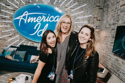 Dana Bakich working as a Digital Producer on American Idol