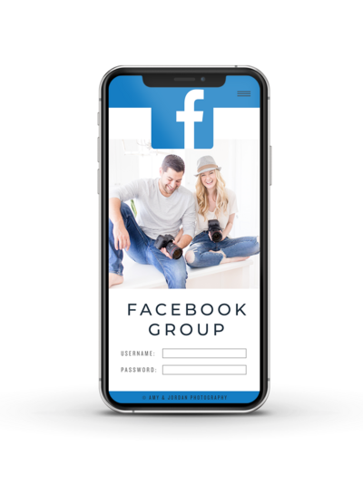 Facebook Group Graphic Phone No Shadow