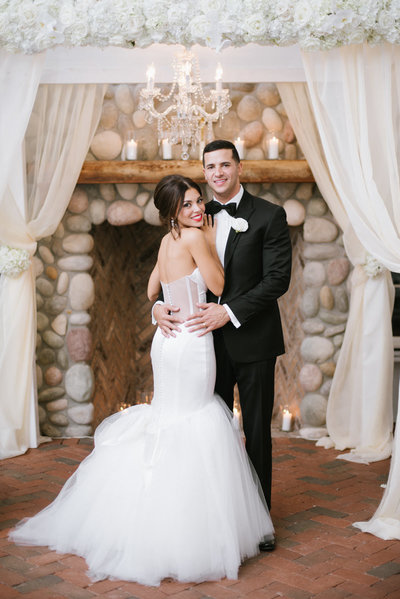 Romatic Black Tie wedding at The Liberty House in New Jersey