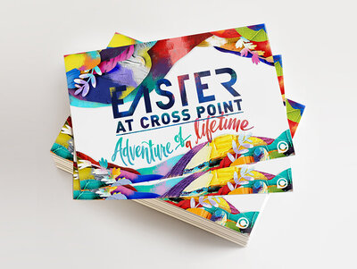 Easter Church Service at Crosspoint Invitations