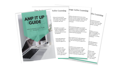 AMP IT UP GUIDE - SP