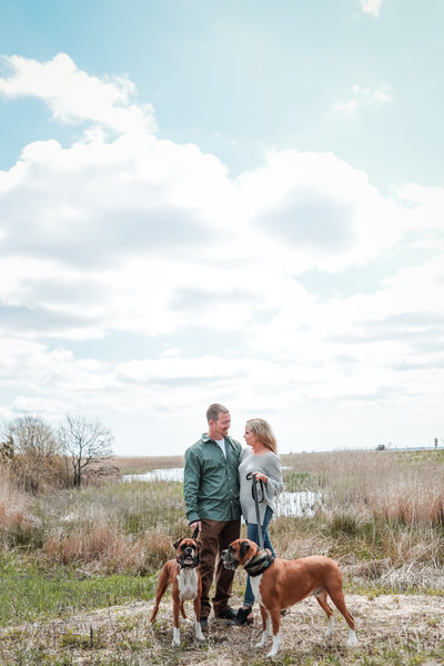 Engagement Session at Allaire State Park New Jersey