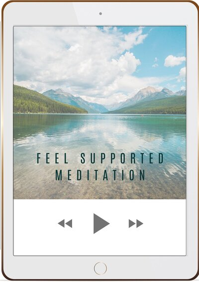 Feel Supporte med phone mockup 2