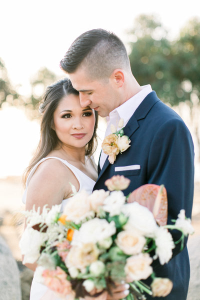 Sunset Cliffs Wedding Inspiration Styled Shoot