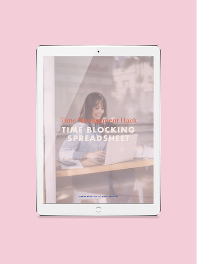 Jenna Rainey - Time Blocking COVER Image-100