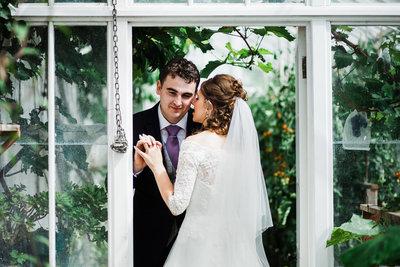 Rhos Y Gilwen ceredigion weddings in Greenhouse
