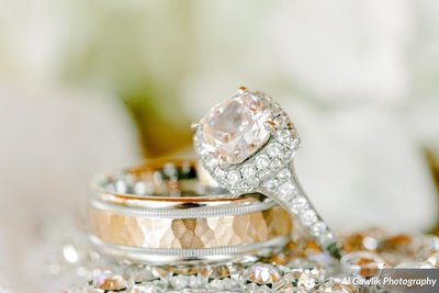 Engagement and Wedding Rings Texas Wedding