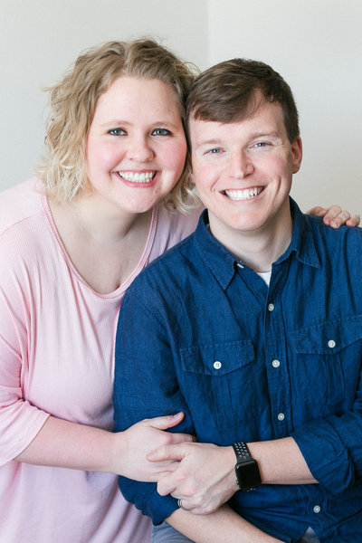 Headshot of Matthew and Brittany Knoxville Wedding Photographers