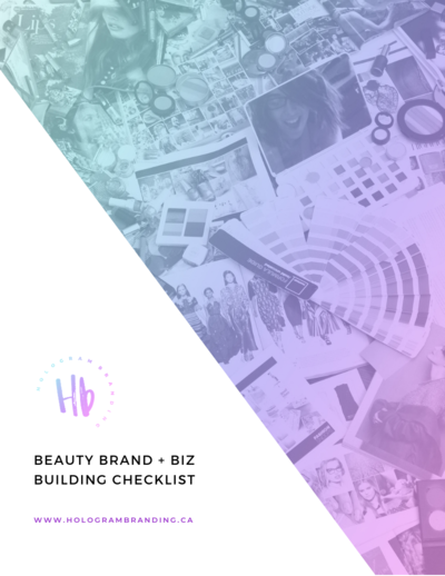 BEAUTY BRAND BIZ BUILDING CHECKLIST