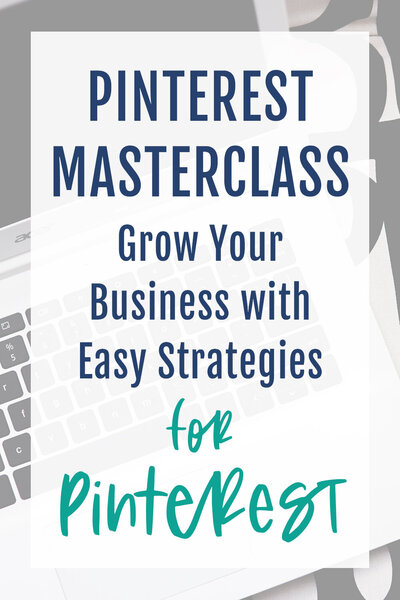 Pinterest masterclass for small businesses