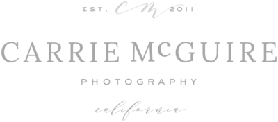 Carrie McGuire Photography - Custom Brand and Showit Web Design Website by With Grace and Gold - 6